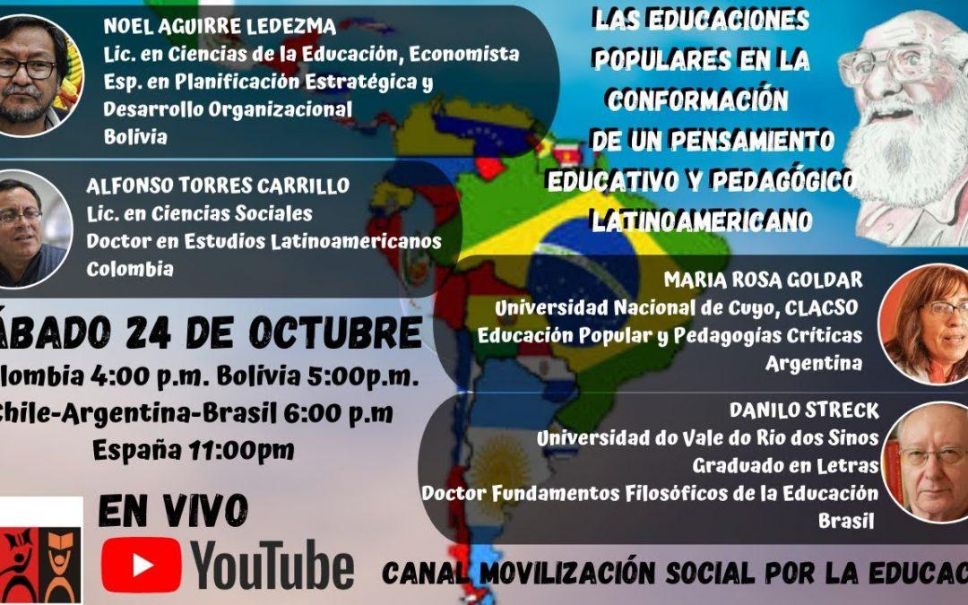 Las educaciones populares en la conformación de un pensamiento educativo-pedagógico latinoamericano