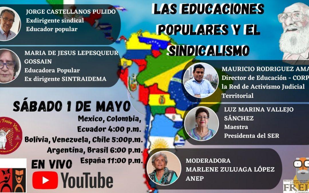 Las educaciones populares y el sindicalismo