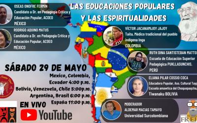 Las educaciones populares y las espiritualidades – III