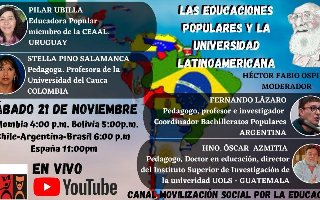 Las educaciones populares y la universidad latinoamericana