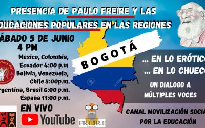 Presencia de Paulo Freire y las educaciones populares en las regiones: Bogotá