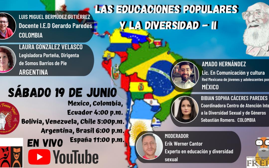 Las educaciones populares y la diversidad – II