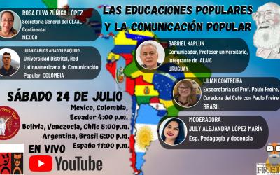 Las educaciones populares y la comunicación popular